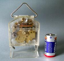 Altes Uhrwerk für Wand - Tischuhr elektromechanisch 3 Jewels France unbenutzt