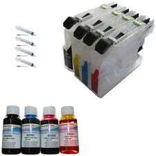 REFILLABLE CARTRIDGES +400ML INK BROTHER LC223 DCP-J4120DW DCP-J562DW NON OEM