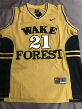 Brand New Tim Duncan Wake Forest Demon Deacons Ncaa Basketball Jersey - L Sewn