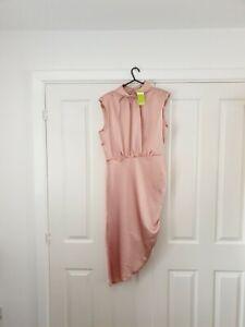 John Zack dress Size 16 pink brand new with tags