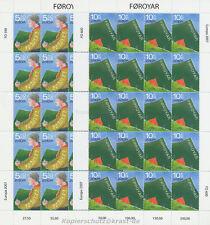 EUROPA CEPT 2007 PFADFINDER SCOUTS - FÄRÖER FOROYAR 607-08 KLEINBOGEN **