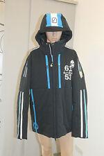 Sportalm Kitzbühel Hommes Veste De Ski Athos à capuche Bleu taille XXL D: 56