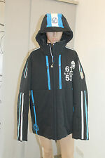 Sportalm Kitzbühel Herren Ski Jacke Athos mit Kapuze Blau Größe XXL D: 56 Neu