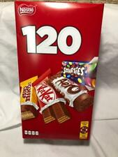 120 Mini Chocolate Bars Kit Kat, Smarties, Aero, Coffee Crisp from CANADA 1.23kg
