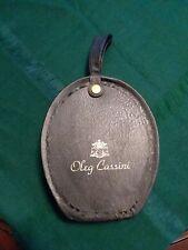 Vintage Oleg Cassini  00004000 Lady's Black Wig Box Case