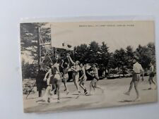 POSTCARD Basketball At Camp Takajo Naples ME M-1
