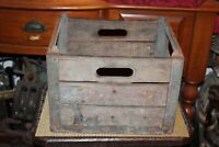 Antique Alderney Dairy Milk Crate Carrier #1 Country Farm Barn Decor Americana