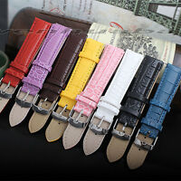 Universal Vintage 18mm Genuine Leather Wrist Watch Strap Band For Apple Watch