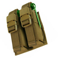 MOLLE Tactical Double Flash Bang Pouch - TAN
