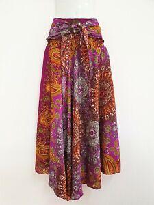Women Long Skirt coconut Hippie Gypsy Lagenlook Bohemian Boho Smock Hemlock CS