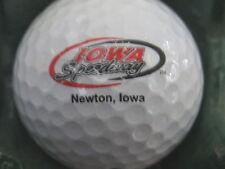 (1) Iowa Sppedway Newton Iowa Nascar Logo Golf Ball