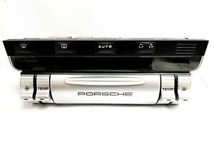 Porsche New 957 Cayenne Climatronic Control Panel Climate Heater Switches Unit