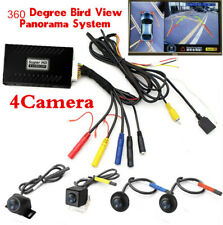 360° HD Bird View Panoramic System 4 Cam Car DVR Recording Parking Rear View Set