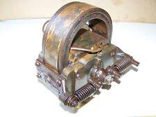 Old WEBSTER K BRASS 2 Bar Hit Miss Gas Engine Magneto Oiler Steam Tractor HOT!!