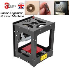 Bluetooth 1500mw Laser Engraving Machine Carving Wood/Metal Engraver Printer UK