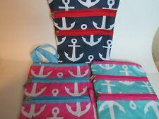 3 pc. Set, Anchor Print NGIL Cross Body Hipster Bags