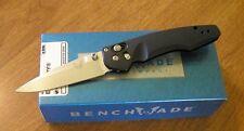 BENCHMADE New Osborne Design Emissary Plain Edge S30V Blade Knife/Knives