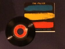 THE POLICE~every breath you take/murder by numbers A&M 1983~ (45) Nm / (SLV) Ex