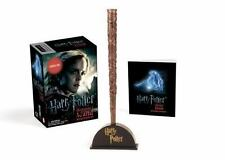 Harry Potter Hermione's Wand with Sticker Kit: Lights Up! by Running Press Novel