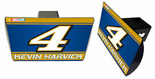 NASCAR #4 KEVIN HARVICK Metal Trailer Hitch Cover-NASCAR Hitch Cover