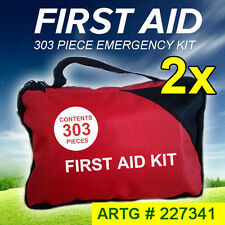 2x 303 Piece Emergency First Aid Kit - A Must Have for Family ARTG # 227341