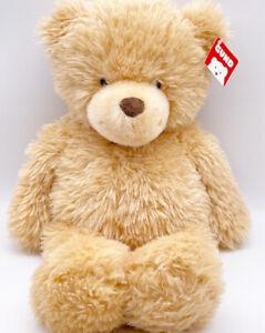 Gund Ginger Bear 18 inch Plush Teddy Stuffed Animal Toy Smiling Shaggy Rare NWT