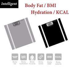 180KG Digital Personal Bathroom Weight Scales Body Fat Bone BMI Water 5 freepost