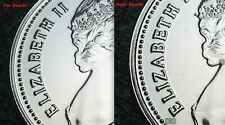 """RCM - 1980 - 25-cents - Caribou - Proof Like - Uncirculated - """" Far Beads """""""