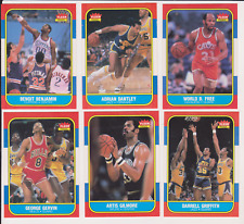 PICK ONE OR MORE1986-87 Fleer Basketball STRAIGHT OUT OF THE PACK MINT-GRADEABLE