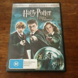 Harry Potter and the ORDER OF THE PHOENIX DVD R4 Like New! FREE POST