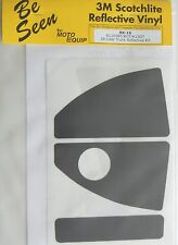 BMW R1200RT K1200GT K1300GT 28 Liter Top Case Black Reflective Vinyl Tape Kit