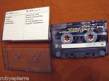 Mc Musicassetta Cassetta Vintage TDK CDing II 70 scritta the balanescu quartet