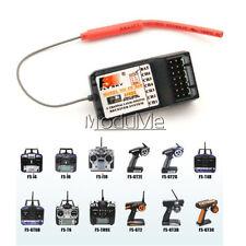 Fly Sky FS-R6B 2.4Ghz Receiver for FS-TH9X FS-CT6B 9g MO