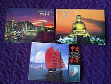 "Hong Kong Postcards - Set of 3 - 3"" x 5"" - Unposted
