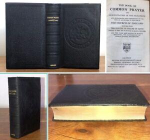 Vintage 1931 Book Of Common Prayer Hymns A&M London Freemen's School Gift Bible