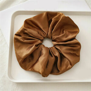 3Pcs Oversized Hair Scrunchies Elegant Sweet Large Elastic Hair Bands Tie Rope#p