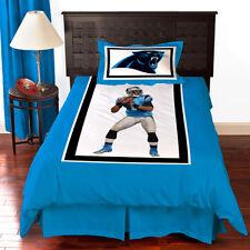 New NFL Biggshots Carolina Panthers Cam Newton  Bedding Comforter Set TWIN