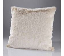"KATRINA  HAMPTON LUXURY FAUX FUR BEIGE  CUSHION COVER size 18"" x 18""  RRP £29.99"