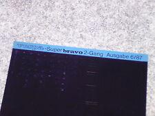 Microfich Katalog Ersatzteilliste Piaggio Vespa Super Bravo 2-Gang Mofa EMC1T