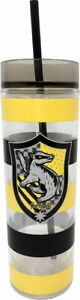 Harry Potter Tall Cup With Straw Hufflepuff