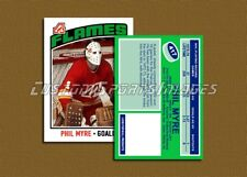 Phil Myre - Atlanta Flames - Custom Hockey Card - 1975-76