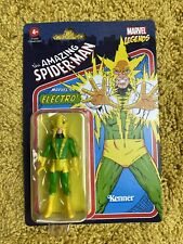 Electro Marvel Legends Kenner Retro 3.75? Figure New 2021 Spider-Man Hasbro NIB