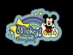 HKDL Hong Kong Cute Characters Mickey Mouse Rainbow Disney Pin 41335