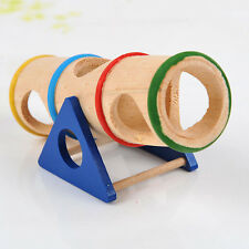 Wooden Colorful Seesaw Pet Cage House Hide Play Toy for Dwarf Hamster Exercise