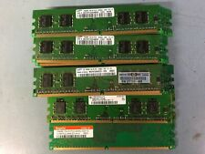 256MB PC2-3200U DDR2-400 1Rx16 LOT OF 30 Various Brand Desktop Memory(RAM) DIMM