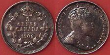 Very Fine 1906 Canada Silver 5 Cents