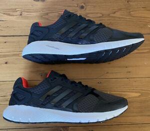 Adidas Men Duramo 8 Cloudfoam Mens Running Trainers Black - UK 9.5