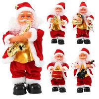 Père Noël Chant électrique Musique Père Noël Figure Cadeau Décorations