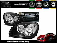 FARI ANTERIORI HEADLIGHTS LPME15 MERCEDES R170 SLK 1996-2002 2003 2004 ANGEL EYE