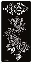 Henna Tattoo Stencil Set for Women Hand Finger Body Paint *UK SELLER* /-m180-/